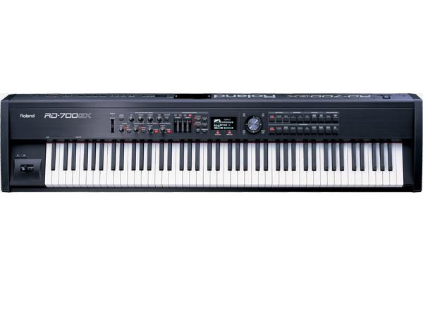 Alquiler teclado Roland RD 700