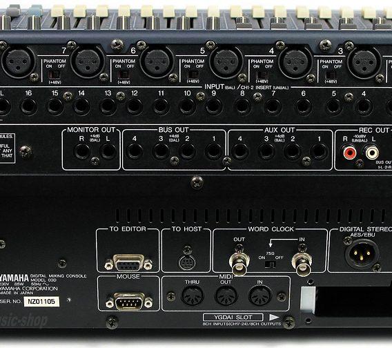 Alquiler mesa digital Yamaha 03D