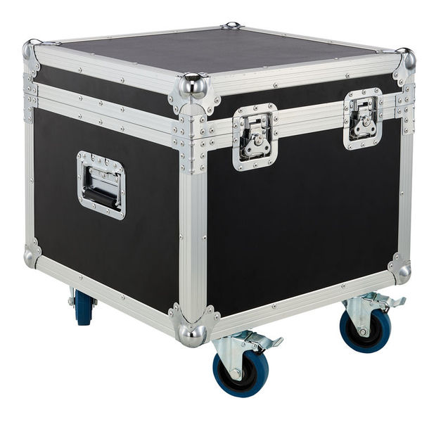 flightcase 4 focos par led